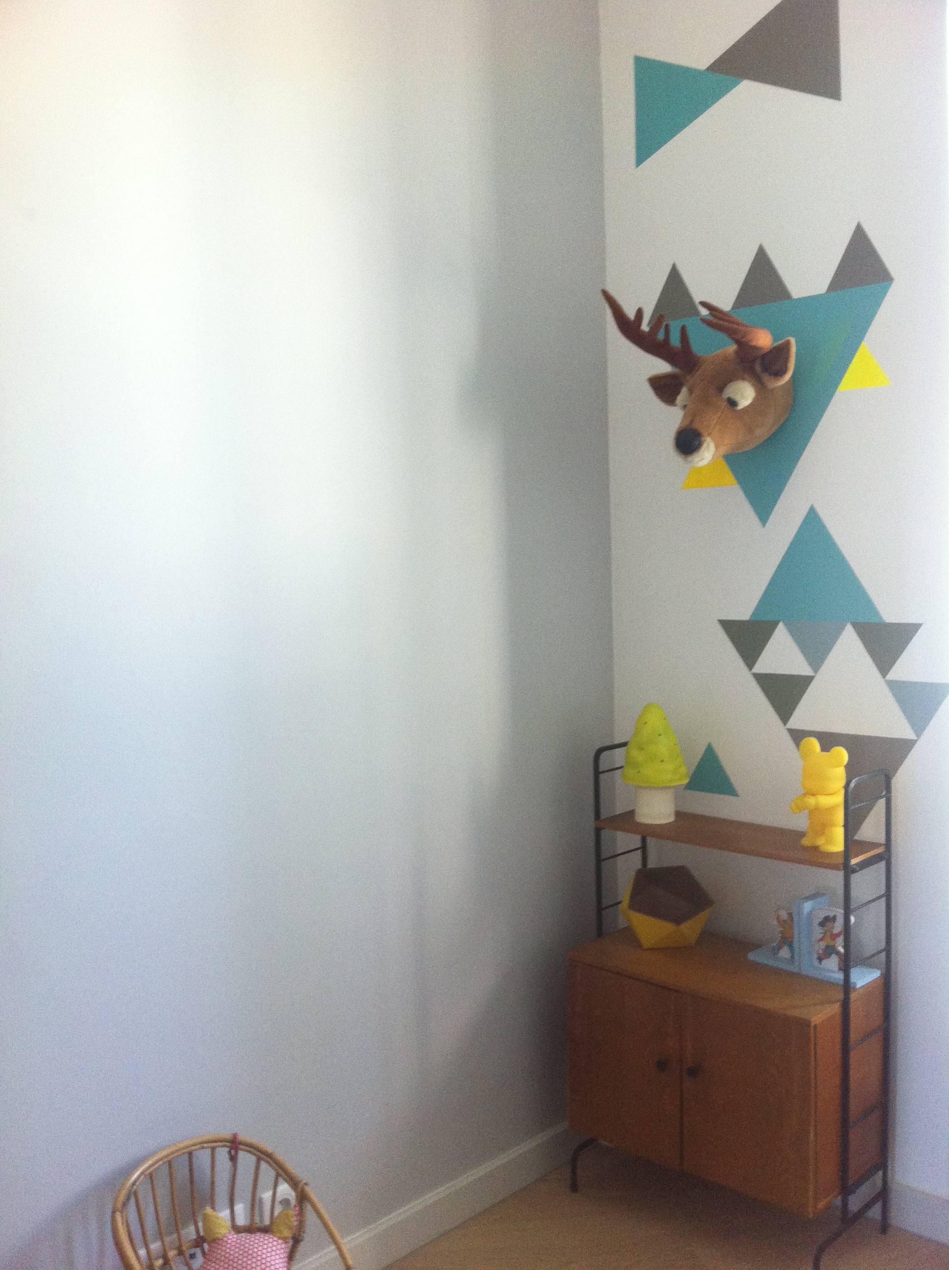 D co chambre b b street balades - Faire un mur de photos decoration ...