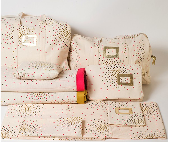 i mon nouveau sac weekend april showers by polder. Black Bedroom Furniture Sets. Home Design Ideas