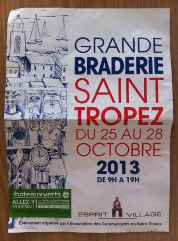 Grande Braderie Saint Tropez 2013