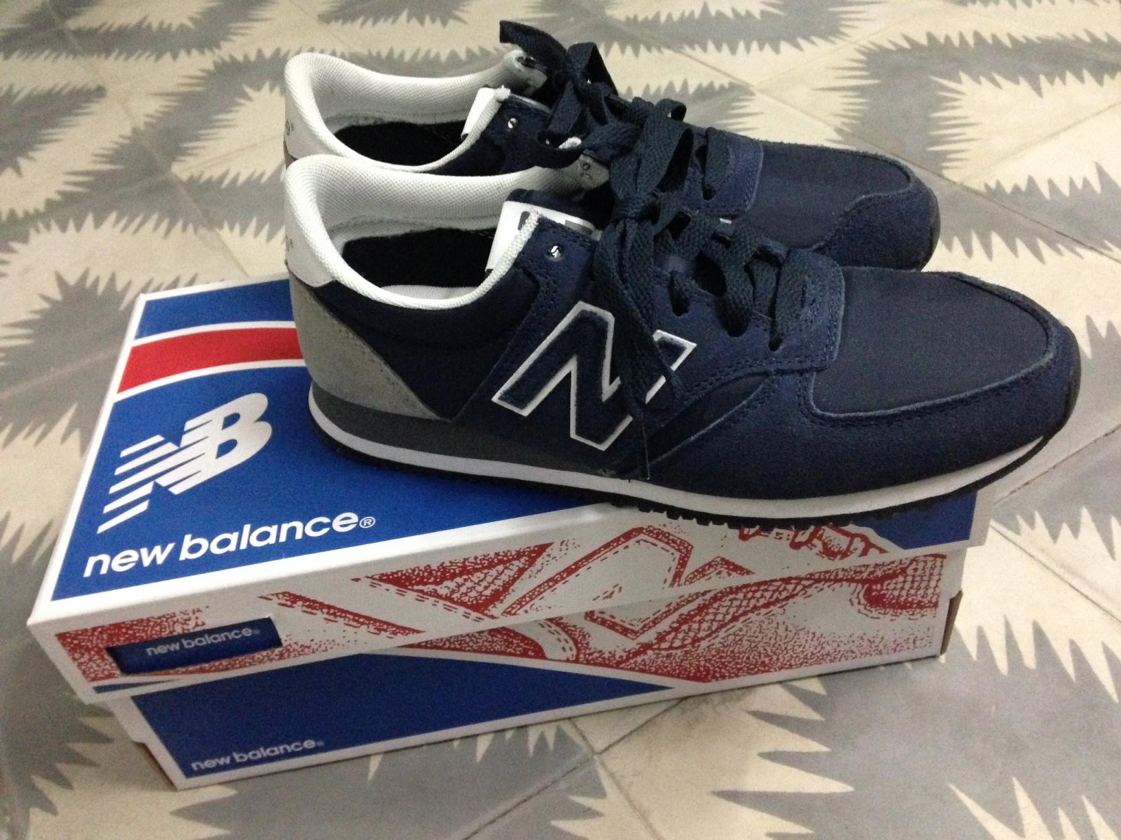 new balance 420 bleu marine femme